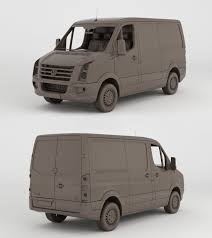 volkswagen crafter dimensions volkswagen crafter 2013 clay render by 3dstate on deviantart