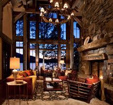 mountain home interiors fireplaces montana rockworks