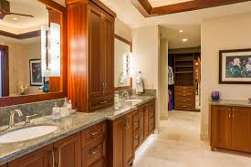 mahogany bathroom cabinets adorn your bathroom to be elegant
