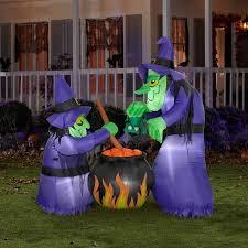 gemmy 6 u0027h x 4 u0027w airblown halloween inflatable double bubble