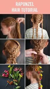Disney Princess Hairstyles 4 Disney Princess Hair Tutorials Princess Hairstyles Halloween