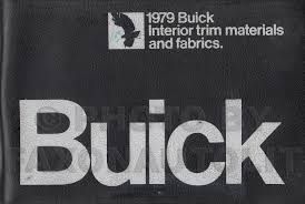 1979 buick repair shop manual original all models