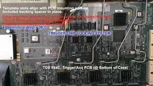 tektronix tds 694c trigger cooling u0026 workaround hackaday io