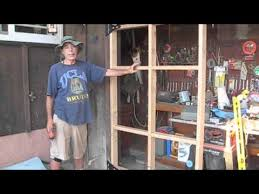 How To Build A Barn Door Frame How To Build A Swing Out Garage Door Youtube