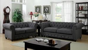 Brown Fabric Sofa Set Furniture Of America Furniture Of America Sofa And Love Seat