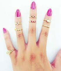 midi ring set ring set midi ring set gold ring set charm ring midi ring