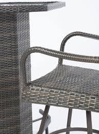 Alfresco Home Outdoor Furniture by Alfresco Home 43 1312 Tutto Wicker Mezzo Bar Set