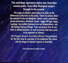 the penguin book of australian women poets the poems 2nd third