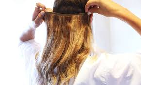 Where Can I Buy Clips For Hair Extensions by How To Apply Hair Extensions The Glamourai