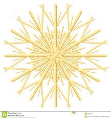 straw star christmas tree ornament stock vector image 62069301