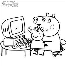 peppa pig coloring pages a4 36d306532e9cf7249a0408548b1b2c33 peppa pinterest