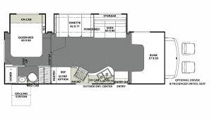Coachmen Class C Motorhome Floor Plans Coachmen Freelander 28bh Ford Class C Motorhome Floor Plan