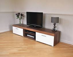 white u0026 walnut sydney 2 metre tv cabinet u0026 large sideboard unit