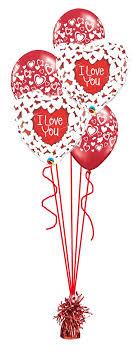 heart balloon bouquet glittery i you balloon bouquet party fever