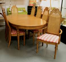 found in ithaca french country dining table and eight chairs sold