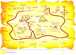 Real Treasure Maps Pirate Map Template Virtren Com