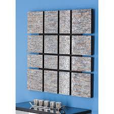 cole grey wood inlay wall décor reviews wayfair