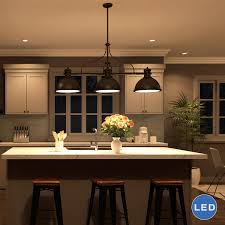 3 Light Island Pendant Kitchen Lighting Modern Kitchen Lighting Ideas Farmhouse Kitchen