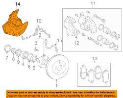 lexus is 300 ebay motors lexus toyota oem 01 05 is300 front brake backing plate 4778122152