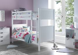 Childrens Beds Fantastic  Fun Range Of Kids Beds TimeSleep - White bunk bed with drawers