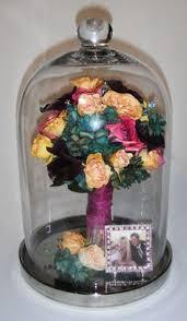 Wedding Wishes Shadow Box Make A Modern Wedding Bouquet Shadow Box Using An Ikea Ribba Frame