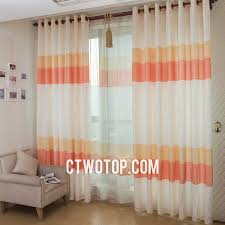 orange bedroom curtains orange chic bedroom curtains with good blackout feature
