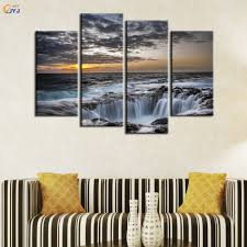 Home Decoration Painting by 4pcs Pic Home Decoration Painting For Living Room Wall Art Gift