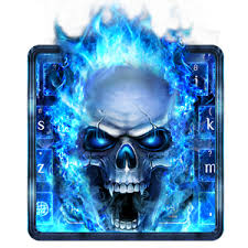 skull apk app blue skull keyboard apk for windows phone android