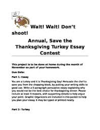 persuasive essay thanksgiving turkey project by geeky tpt