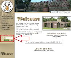 Planters Online Banking by Lafayette State Bank Online Banking Login Internet Banking