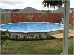 Backyard Pool Landscape Ideas by Backyards Fascinating Front Yard Landscape 5 Good Above Ground