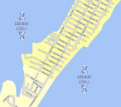 New Jersey Map Lbi Maps Section 2 Holgate South Beach Haven Long Beach Island Nj