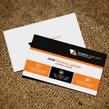 business card template psd black blue brand arquivo png e psd