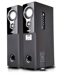 sony wireless home theater speakers oscar osc 16600bt 2 0 tower speakers with bluetooth karaoke and