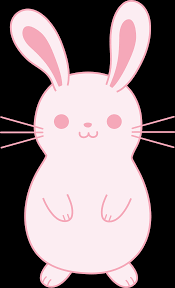 Cute Pink Pictures by Cute Pink Easter Bunny Free Clip Art
