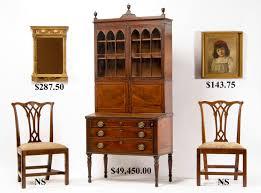 Large Secretary Desk by Hap Moore Antiques Auctions September 26 2009