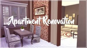 the sims 4 city living family apartment renovation youtube