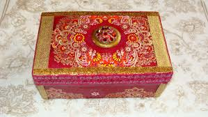 themed jewelry box trinket box jewelry box pink gold india asia boho
