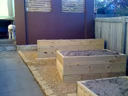 large wooden box planters margarite gardens