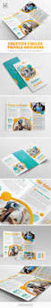 creative circles trifold brochure brochure template brochures