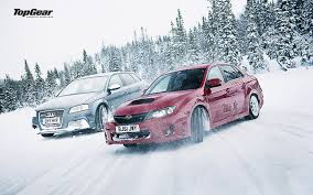 subaru winter subaru wrx sti audi snow winter drift top gear hd wallpaper cars