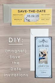make your own save the date learn how to easily make your own magnet save the dates diy