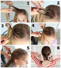how to braid short hair step by step rope braided updo for short hair parlor diary