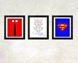 superman home decor wall art decor ideas chistopher superman wall art sample classic