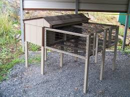 Double Decker Rabbit Hutch 9 Best Rabbit Housing Images On Pinterest Meat Rabbits Raising