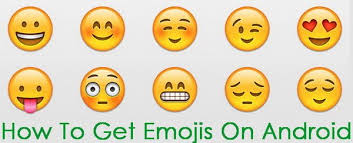 android smileys how to use emojis on your android device or smartphone