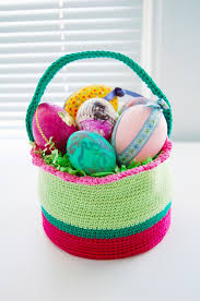 Easter Baskets Delivered 10 Free Crochet Easter Basket Patterns