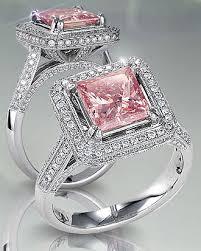 pink wedding rings pink wedding rings rikof