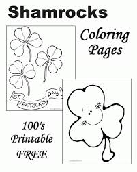 free shamrock coloring pages pages iphone coloring free shamrock
