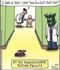 Adult Diaper Meme - cartoon huggies diaper testing